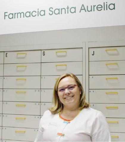 Formulario de contacto de Farmacia Santa Aurelia