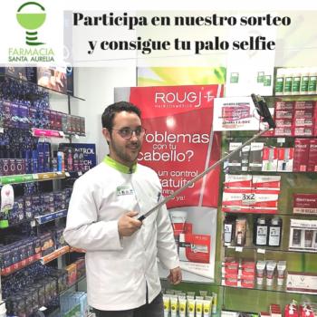Consigue tu palo selfie con Farmacia Santa Aurelia