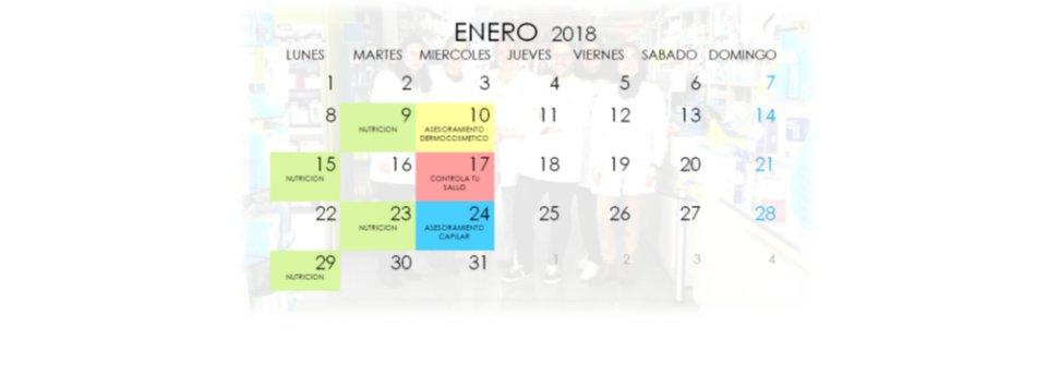 Agenda del mes