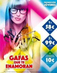 Prmoción Gafas que enamoran de Farmaoptics en Farmacia Santa Aurelia