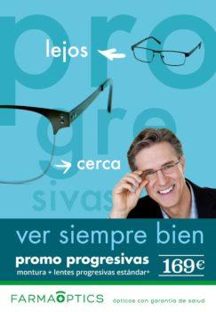 Ve siempre bien - Campaña de progresivos en Farmacia Optica Santa Aurelia