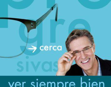 Ve siempre bien con unas gafas progresivas