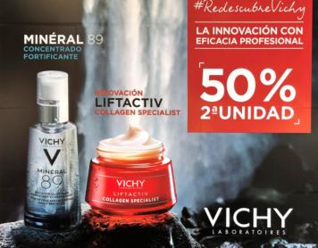 La segunda unidad de Vichy ahora al 50%