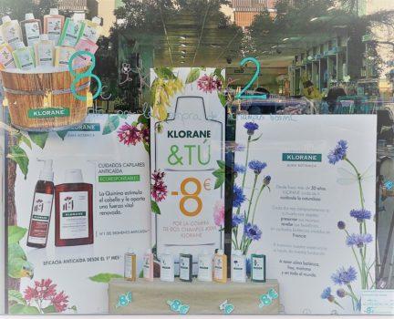 8 euros de descuento con Klorane en Farmacia Santa Aurelia