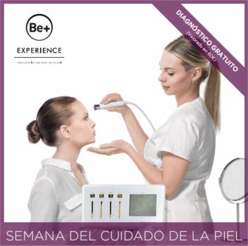Semana del cuidado de la piel con Be+ en Farmacia Santa Aurelia
