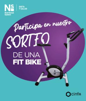 Sorteo bicicleta estática con Ns en Farmacia Santa Aurelia