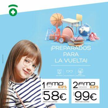 Vuelta al cole infantil Farmacia Optica Santa Aurelia