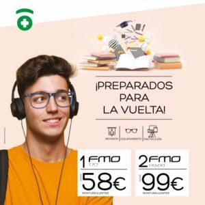 Protege tu vista para la vuelta al cole juvenil Farmacia Optica Santa Aurelia