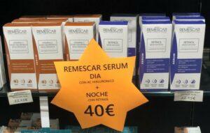 Consigo la pareja de serum de Remescar por 40€ en Farmacia Santa Aurelia